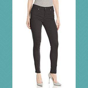 Levi's Black Wash High Rise Slimming Skinny Jeans